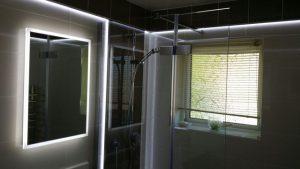 Bathroom Power, Lighting + Ventilation