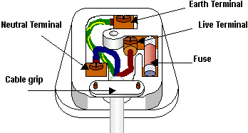 Wiring a plug capper shaw electrical warrington you must trim off around 5mm at the end of each wire unscrew each terminal and place into it the end of the correct wire tighten up the the screw making asfbconference2016 Image collections
